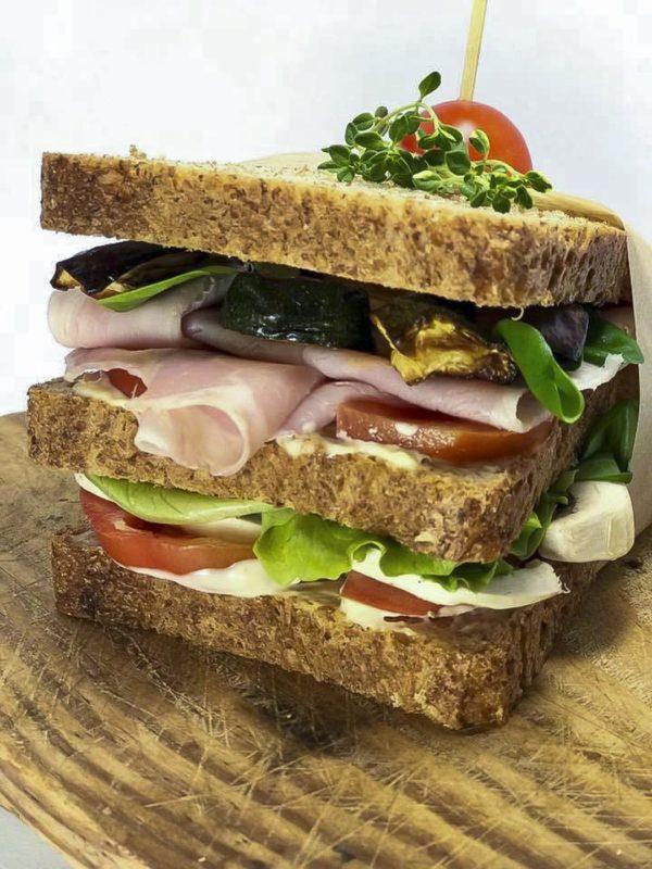 il club sandwich di tatiana melfa bakery